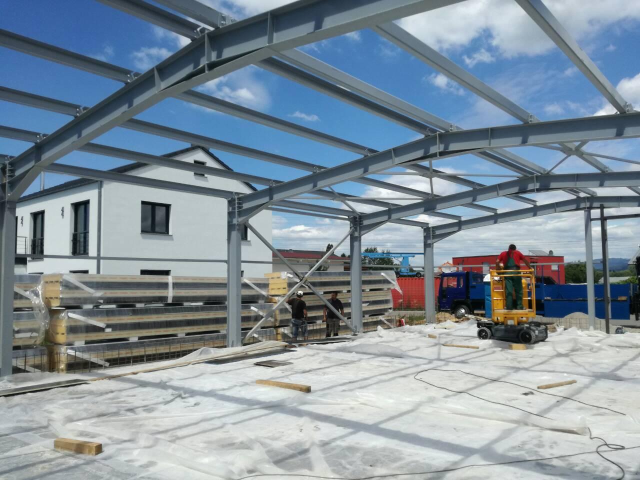 Neubau Lager- und Produktionshalle