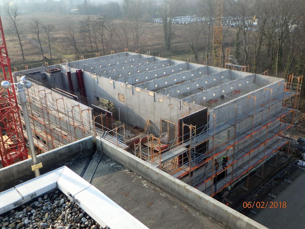 Neubau Laborgebäude für Laserlabore, Fraunhofer IAF, Freiburg